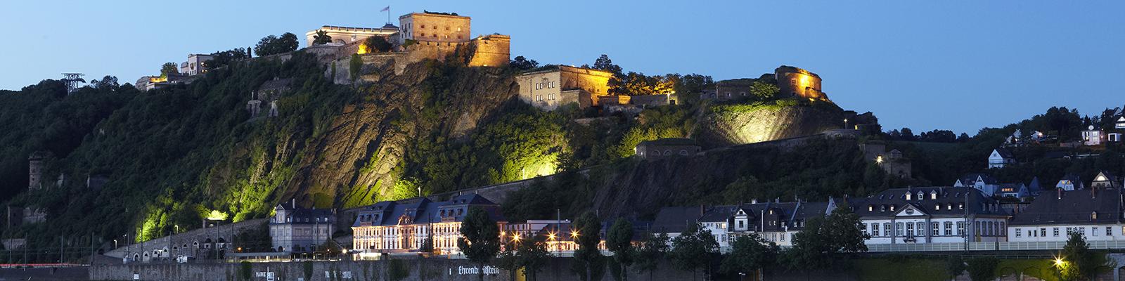 Kulturzentrum Festung Ehrenbreitstein © GDKE, U. Pfeuffer