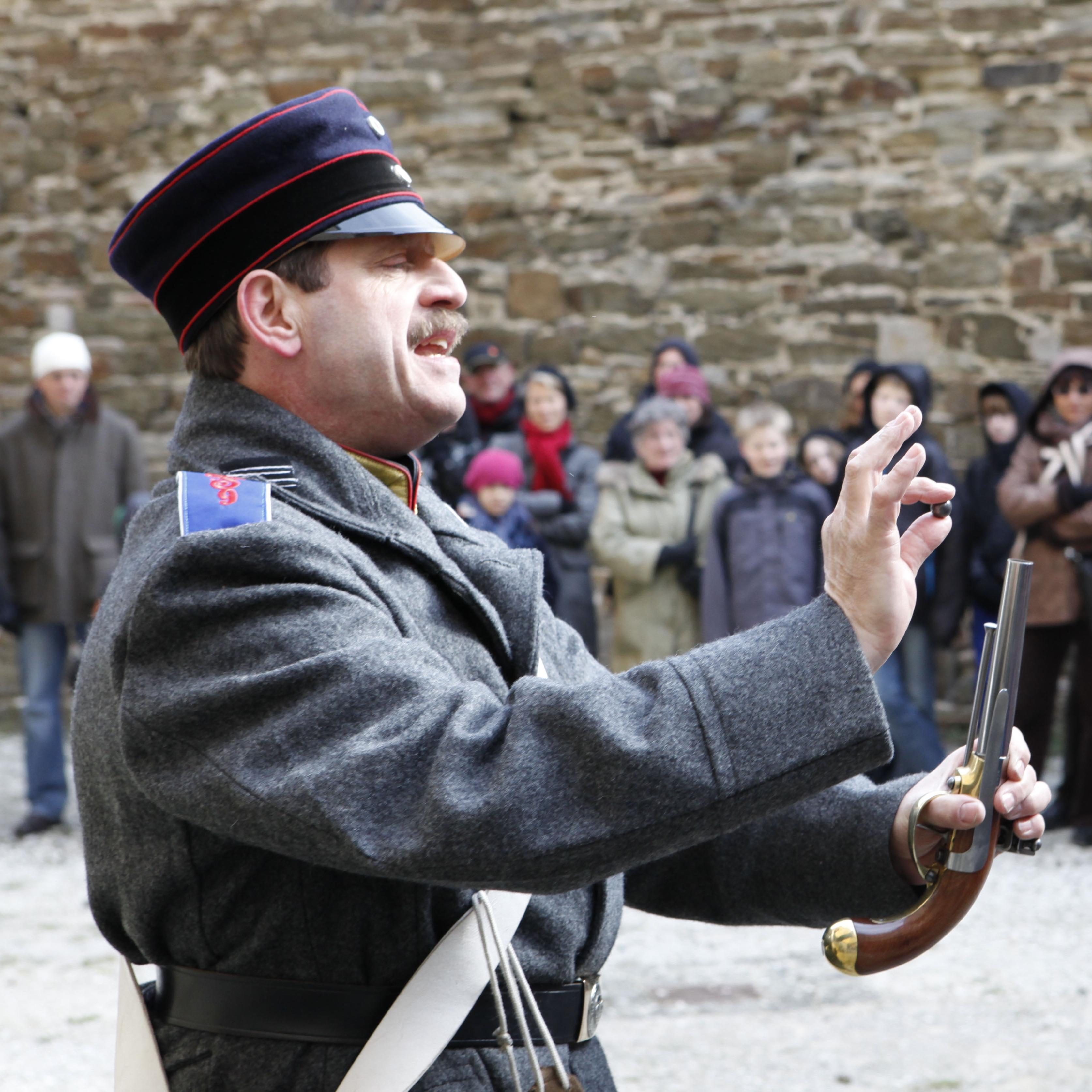 Der Festungskanonier © Kulturzentrum Festung Ehrenbreitstein GDKE